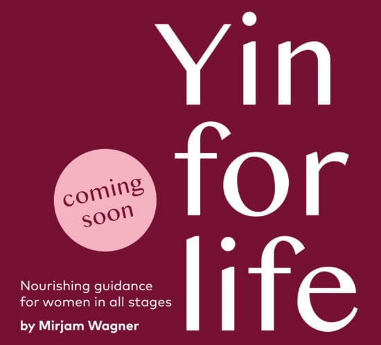 Book Release - Yin for Life by Mirjam Wagner